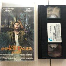Cinéma: LOS INMORTALES HIGHLANDER SEAN CONNERY - CINTA VSH KREATEN. Lote 268116014