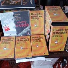 Cine: LOTE DE VHS EL ANALISIS DE LA PUBLICIDAD. NUEVOS Y USADOS.. Lote 268128059