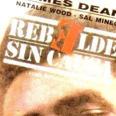 Cine: REBELDE SIN CAUSA JAMES DEAN NATALIE WOOD SAL MINEO VHS PVL. Lote 268486859