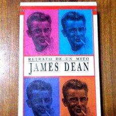 Cine: JAMES DEAN RETRATO DE UN MITO VHS ORIGNAL. Lote 268488629