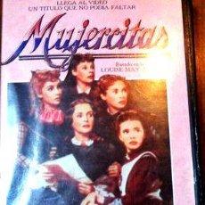 Cine: MUJERCITAS ELIZABETH TAYLOR VHS ORIGINAL. Lote 268491614