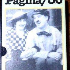 Cine: CHARLES CHAPLIN VAGABUNDOAVENTUREROBOMBERO VHS ORIGINAL. Lote 268498249