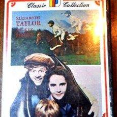 Cine: FUEGO DE JUVENTUD MICKEY ROONEY ELIZABETH TAYLOR VHS. Lote 268501684