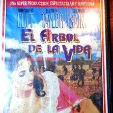Cine: EL ARBOL DE LA VIDA ELIZABETH TAYLOR VHS ORIGINAL. Lote 268507454