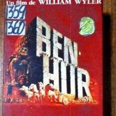 Cine: BEN HUR CHARLTON HESTON VHS ORIGINAL IMPECABLE. Lote 268517864