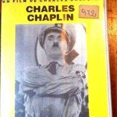 Cine: EL GRAN DICTADOR CHARLES CHAPLIN VHS ORIGINAL. Lote 268532919