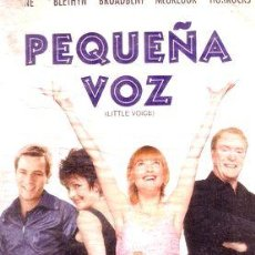 Cine: PEQUENA VOZ JUDY GARLAND SHIRLEY BASSEY VHS PVL. Lote 268556164