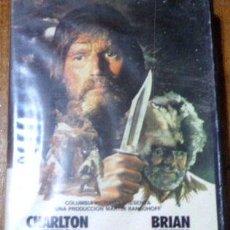 Cine: EL HOMBRE DE LA MONTANA CHARLTON HESTON VHS ORIGINAL. Lote 268558524
