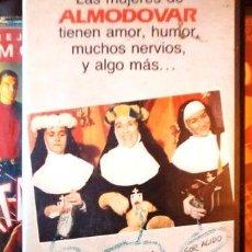 Cine: ENTRE TINIEBLAS DE PEDRO ALMODOVAR VHS. Lote 268560144