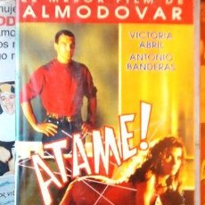 Cine: ATAME DE PEDRO ALMODOVAR VHS. Lote 268561364