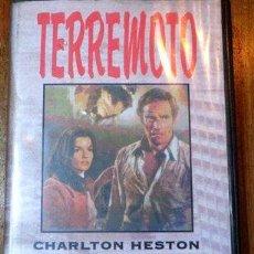 Cine: TERREMOTO CHARLTON HESTON AVA GARDNER VHS ORIGINAL. Lote 268564509