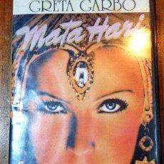 Cine: MATA HARI GRETA GARBO VHS ORIGINAL EN EXCELENTE ESTADO. Lote 268566929