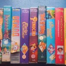 Cine: WALT DISNEY - VHS - LOTE 19 PELICULAS. Lote 268591734