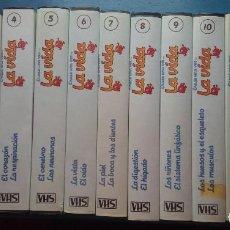 Cine: ERASE UNA VEZ ... LA VIDA - 13 VHS. Lote 268595919