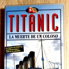 Cine: VHS - TITANIC LA MUERTE DE UN COLOSO - DOCUMENTAL - CATÁSTROFES. Lote 268608704
