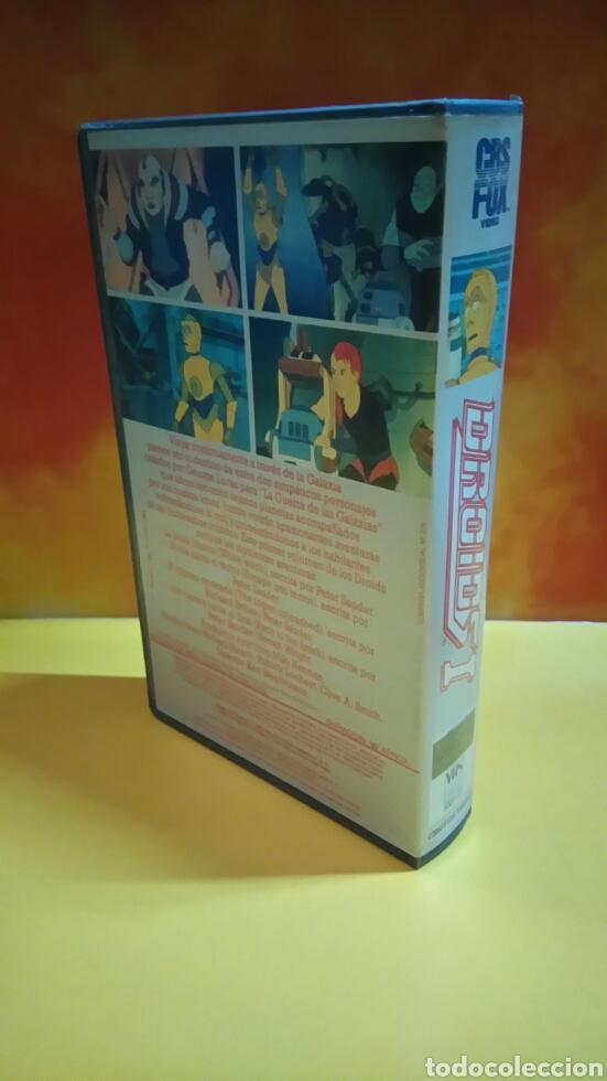 Cine: DROIDS 1, 2, 3 - Dibujos Animados - STAR WARS - 1 Edición - VHS - Foto 3 - 268618779