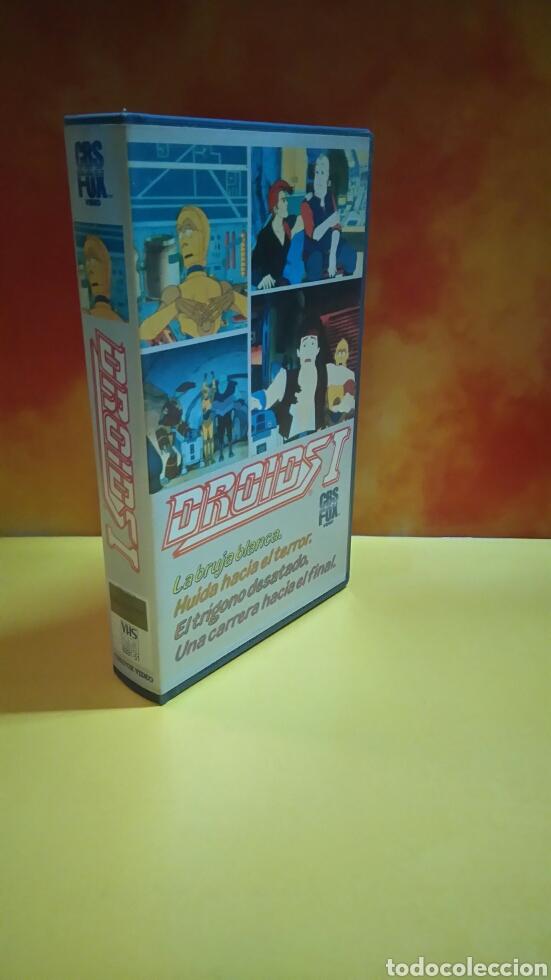 Cine: DROIDS 1, 2, 3 - Dibujos Animados - STAR WARS - 1 Edición - VHS - Foto 4 - 268618779