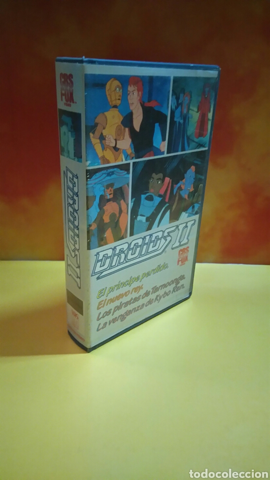 Cine: DROIDS 1, 2, 3 - Dibujos Animados - STAR WARS - 1 Edición - VHS - Foto 6 - 268618779