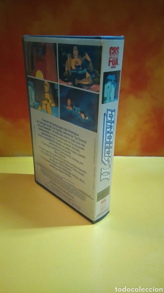 Cine: DROIDS 1, 2, 3 - Dibujos Animados - STAR WARS - 1 Edición - VHS - Foto 7 - 268618779