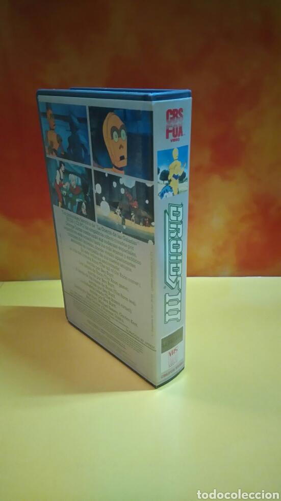 Cine: DROIDS 1, 2, 3 - Dibujos Animados - STAR WARS - 1 Edición - VHS - Foto 10 - 268618779