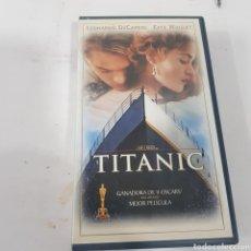 Cine: VHS 264 TITANIC -CINTA VHS SEGUNDA MANO. Lote 268720159