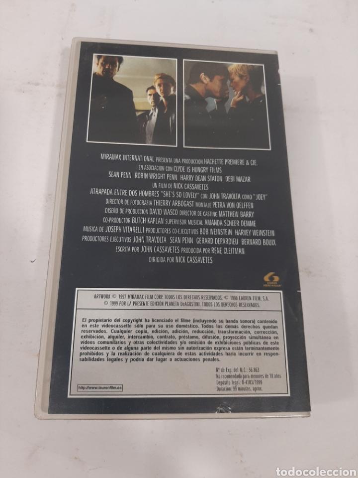 Cine: VHS - 311 atrapada entre dos hombres -VHS SEGUNDA MANO - Foto 2 - 269093778