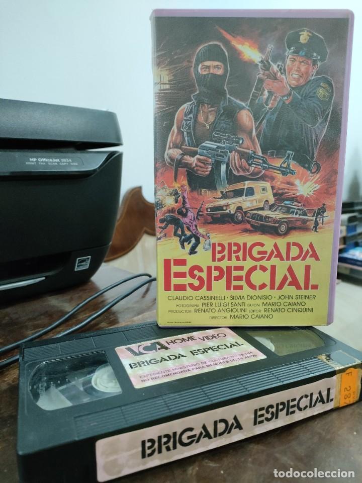 BRIGADA ESPECIAL - MARIO CAIANO - SILVIA DIONISIO, JOHN STEINER - VCA (Cine - Películas - VHS)