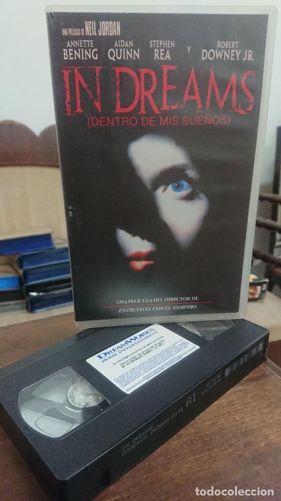 IN DREAMS (DENTRO DE MIS SUEÑOS) - NEIL JORDAN - ANNETE BENING , AIDAN QUINN - DREAMWORKS 2000 (Cine - Películas - VHS)