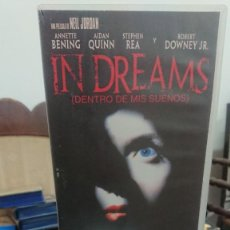 Cine: IN DREAMS (DENTRO DE MIS SUEÑOS) - NEIL JORDAN - ANNETE BENING , AIDAN QUINN - DREAMWORKS 2000. Lote 269253473
