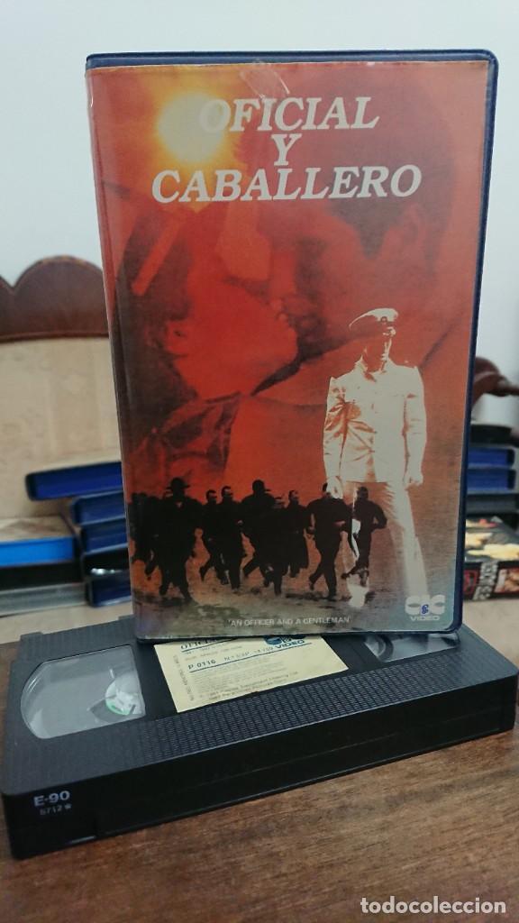 OFICIAL Y CABALLERO - TAYLOR HACKFORD - RICHARD GERE , DEBRA WINGER - CIC VIDEO 1982 (Cine - Películas - VHS)
