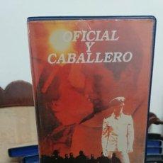 Cine: OFICIAL Y CABALLERO - TAYLOR HACKFORD - RICHARD GERE , DEBRA WINGER - CIC VIDEO 1982. Lote 269255448