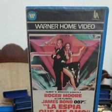 Cine: LA ESPIA QUE ME AMO JAMES BOND 007 - LEWIS GILBERT - ROGER MOORE , BARBARA BACH - WARNER 1984. Lote 269255973