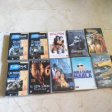 Cine: LOTE PELÍCULAS VHS VARIOS TÍTULOS.. Lote 269257163