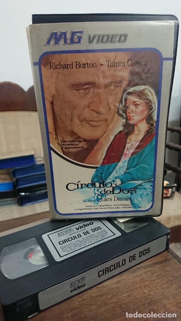 CIRCULO DE DOS - JULES DASSIN - DONNAN CAVIN , MICHAEL WINCOTT - MG VIDEO (Cine - Películas - VHS)