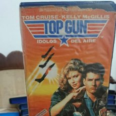 Cine: TOP GUN IDOLOS DEL AIRE - TONY SCOTT - TOM CRUISE , KELLY MCGILLIS - CIC 1987. Lote 269261108