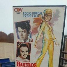 Cine: BUENOS DIAS CONDESITA - LUIS CESAR AMADORI - ROCIO DURCAL , VICENTE PARRA - COC VIDEO 1988. Lote 269261783