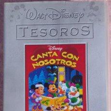 Cine: CANTA CON NOSOTROS FELIZ NAVIDAD, VHS (WALT DISNEY / EL PAÍS) /// MICKEY MOUSE MINNIE DONALD GOOFY. Lote 269313493