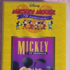 Cine: MICKEY Y SU PANDILLA, VHS (WALT DISNEY / EL PAÍS) /// MINNIE DONALD GOOFY REY LEÓN SIRENITA MULÁN. Lote 269316323
