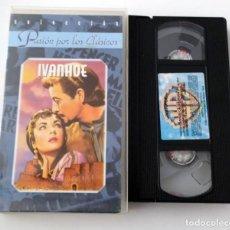 Cine: PELICULA VHS IVANHOE - COLECCION PASIÓN POR LOS CLASICOS. Lote 269341388
