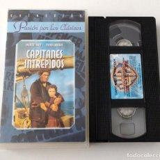Cine: PELICULA VHS CAPITANES INTRÉPIDOS - COLECCION PASIÓN POR LOS CLASICOS. Lote 269341958