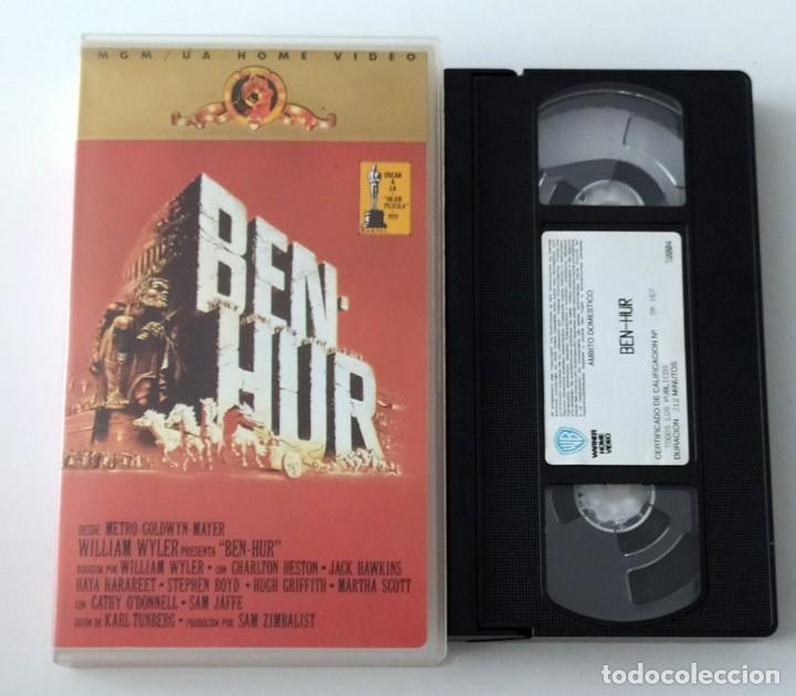 PELICULA VHS BEN HUR - MGM HOME VIDEO (Cine - Películas - VHS)