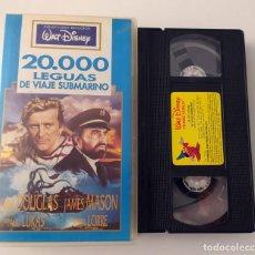 Cine: PELICULA VHS WALT DISNEY - 20.000 LEGUAS DE VIAJE SUBMARINO. Lote 269342598