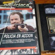 Cine: POLICIA EN ACCION - VIC MORROW, EDWARD ASNER, DIANE BAKER, WILLIAM GRAHAM - VHS. Lote 269349453