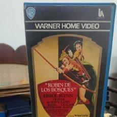 Cine: ROBIN DE LOS BOSQUES - MICHAEL CURTIZ - ERROL FLYNN , OLIVIA DE HAVILLAND -WARNER 1983. Lote 269397923