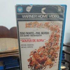 Cine: GOLFUS DE ROMA - RICHARD LESTER - ZERO MOSTEL , PHIL SILVERS - WARNER 1984. Lote 269398878