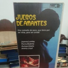 Cine: JUEGOS DE AMANTES (GAMES THAT LOVERS PLAY) - MALCOLM LEIGH - JOANNA LUMLEY , PENNY BRAHMS - SCREEN. Lote 269400933