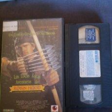 Cine: VHS LAS LOCAS LOCAS AVENTURAS DE ROBIN HOOD CG 410. Lote 269416488