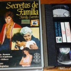 Cine: SECRETOS DE FAMILIA - STEFANIE POWERS, MAUREEN STAPHLETON, MELISSA GILBERT, JACK HOPSISS - VHS. Lote 269498673