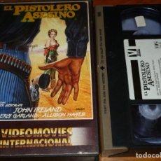 Cine: EL PISTOLERO ASESINO - ROGER CORMAN, JOHN IRELAND, BEVERLY GARLAND, ALLISON HAYES - VHS. Lote 269498823