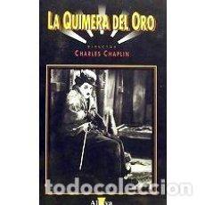 Cine: CHARLES CHAPLIN LA QUIMERA DEL ORO VHS HUMOR. Lote 269563538